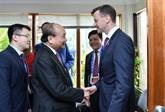 APEC 2018: le Premier ministre vietnamien rencontre des entreprises américaines