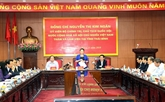 La présidente de l'AN exhorte Thai Binh à developer l'économie maritime