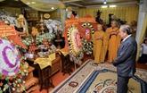 Cérémonie en mémoire du vénérable Thich Hiên Phap à Hô Chi Minh-Ville