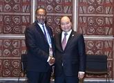 Le Premier ministre vietnamien rencontre son homologue vanuatais