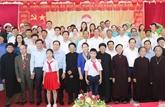 La présidente de l'Assemblée nationale à la Fête de la grande union à Thai Binh