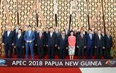 Les dirigeants de l'APEC discutent du libre-échange