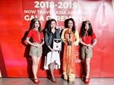 Vietjet Air: meilleur uniforme d'hôtesse de l'air de l'Asie