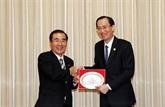 Hô Chi Minh-Ville promeut sa coopération avec la ville japonaise de Kagoshima