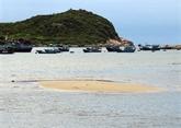 La sédimentation sableuse dans la baie de Vinh Hy