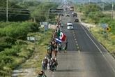 Mexique: la première caravane de migrants reprend sa route vers les États-Unis