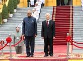 Félicitations à l'occasion du 73e anniversaire de la Journée de l'indépendance de l'Inde