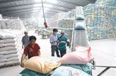 Les exportations de riz pourraient dépasser les 3 milliards d'USD en 2018