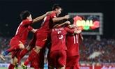 Football: deux ans sans défaite pour l'équipe nationale
