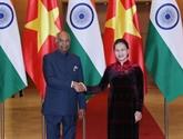 Entrevue entre la présidente de l'AN et le président indien