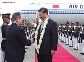 Le président chinois effectue sa visite d'État aux Philippines
