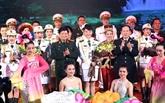 Colloque sur l'échange d'amitié de la défense frontalière Vietnam - Chine