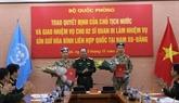 Deux autres officiers participent aux opérations de maintien de la paix au Soudan du Sud