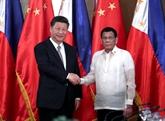 La Chine et les Philippines conviennent de renforcer leurs relations