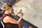 France: au pied du Larzac, un atelier de tapis tourné vers l'excellence