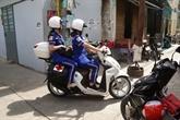 Urgences médicales à moto