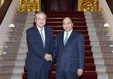 Nguyên Xuân Phuc demande à SMBC d'accroître ses investissements au Vietnam