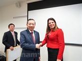 Le ministre de la Police, Tô Lâm, en visite de travail au Royaume-Uni