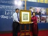 Les peintures de Lê Thi Luu de retour au pays