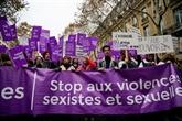 Marches féministes en Europe contre les violences sexistes et sexuelles