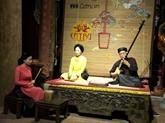 Hanoï donne une nouvelle jeunesse au chant ca trù