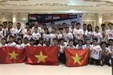 Hanoï brille au Championnat du monde de mathématiques par équipe