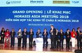 La Rencontre asiatique d'Horasis 2018 s'ouvre à Binh Duong