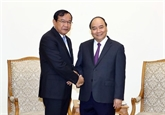 Bon développement des relations Vietnam - Cambodge
