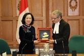 Les relations Vietnam - Canada sont en bonne voie