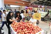 Inauguration du supermarché Auchan Crescent Mall