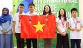 Des élèves de Hanoï remportent de l'or à un concours en Malaisie