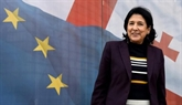 Présidentielle en Géorgie: Salomé Zourabichvili largement en tête
