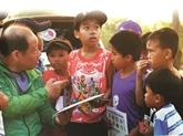 Trois mille kilomètres à pied pour aider les enfants en difficulté