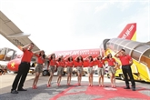Hôtesses de l'air de Vietjet Air: le plus bel uniforme d'Asie