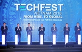 Start-up: ouverture de Techfest Vietnam 2018