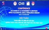 Les jeunes et le changement climatique au centre d'une conférence à Hanoï
