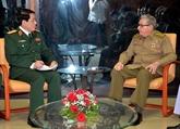 Cuba et Vietnam resserrent leurs relations militaires