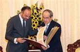 Hô Chi Minh-Ville souhaite renforcer sa coopération avec la France