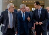 Bachar al-Assad salue les efforts de la Russie