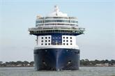 Le palace flottant Celebrity Edge quitte Saint-Nazaire pour les États-Unis