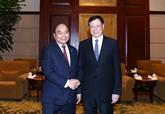 Le Premier ministre Nguyên Xuân Phuc reçoit le maire de Shanghai