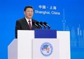 CIIE : Xi Jinping appelle à construire une économie mondiale ouverte