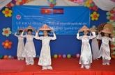 Rentrée scolaire 2018-2019 des enfants des Viêt kiêu à Phnom Penh