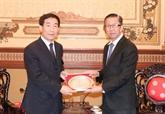 Le président de la Commission de la loi de l'ANP chinoise reçu à HCMV