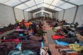 La caravane de migrants fait une pause à Mexico