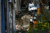À Marseille, les chances de trouver des survivants sous les décombres s'amenuisent