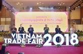 La Foire du commerce du Vietnam 2018 au Cambodge