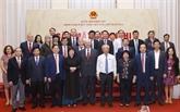 Rencontre du groupe parlementaire d'amitié Vietnam - Russie à Hanoï
