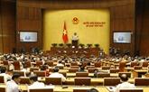 L'AN va voter une résolution et discuter de deux projets de loi aujourd'hui