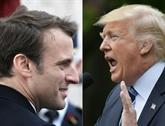 Visite du président américain en France: une réunion Trump - Macron prévue